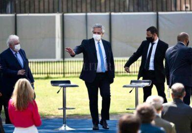 Fernández lanzó el Detectar Federal y reclamó al Congreso que agilice el debate de reforma judicial